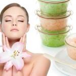 Prirodni piling za lice sa šećerom, kafom, medom, sodom bikarbonom