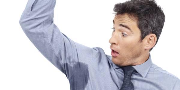 prekomerno znojenje
