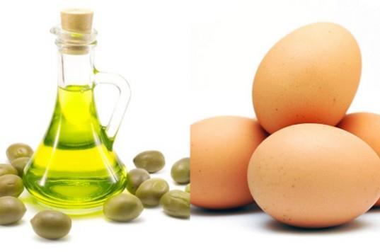 Image result for žumanc, bademovog ulja ili maslinovog ulja;