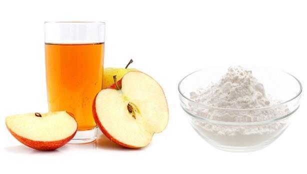 soda bikarbona i jabukovo sirce