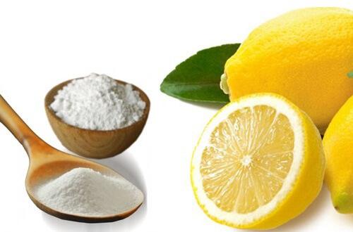 soda bikarbona limun voda