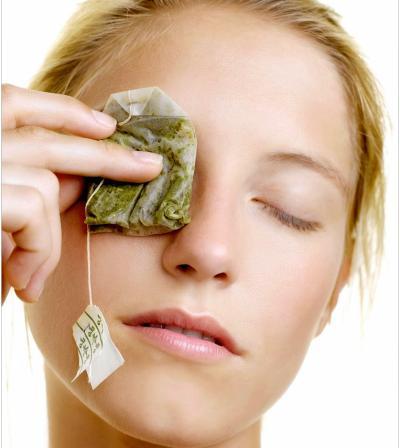 maska za lice od zelenog caja