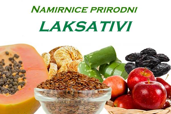 namirnice prirodni laksativi