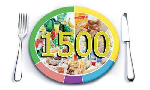 1500 kalorija dijeta