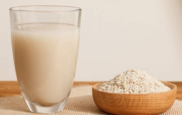 mleko od pirinca recept